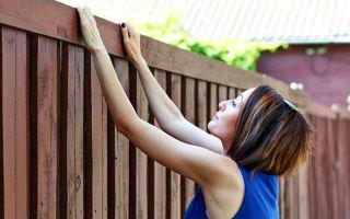Можно ли ставить глухой забор?