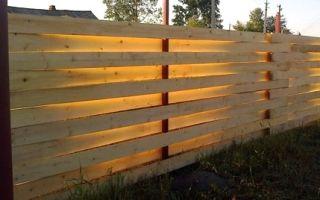 Как сделать плетеный забор?