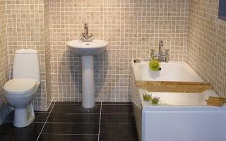 Какая минимальная высота раковины в ванной?
