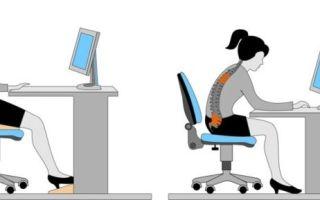 Какая должна быть высота компьютерного стола?