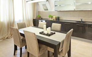 Какая должна быть высота кухонного стола?