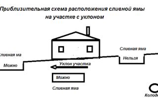 Какое разрешено расстояние от колодца до выгребной ямы?