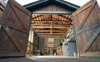 Какие размеры гаражных ворот?