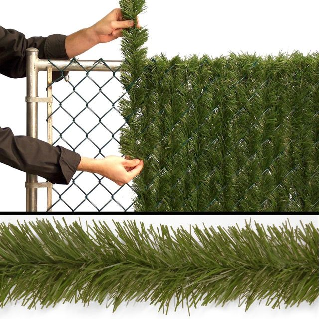 Чем закрыть забор из сетки рабицы от соседей: фото, как сделать непрозрачным низ ограждения, видео