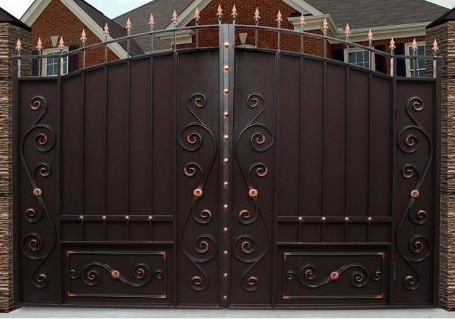 Кованые заборы и ворота: красивые фото, эскизы и картинки калиток