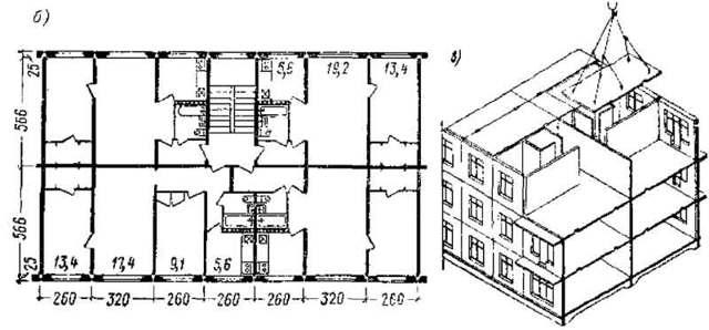 Высота 5 этажного дома в метрах: хрущевка и кирпичное панельное строение по ГОСТ