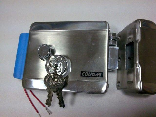 Электромеханический замок на калитку уличный: установка, схема подключения, монтаж морозостойкой защелки своими руками, фото и видео