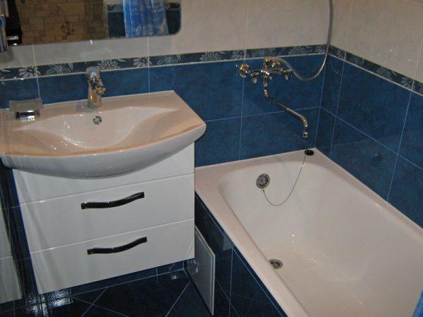 Высота я над ванной от пола: стандарт установки, на какой ставить, стандартная по СНиП (СП) и фото