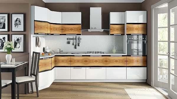 Расстояние между верхними и нижними шкафами кухни: стандарт гарнитура при газовой плите, какое должно быть по нормам